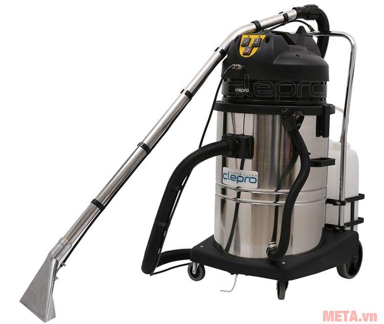Máy giặt thảm phun hút Clepro CS-C2/60 có chức năng giặt thảm, hút bụi sàn