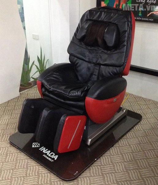 Ghế massage toàn thân Inada yUME Robo HCP-R100D màu đỏ đen