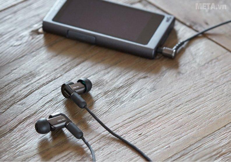 Tai nghe Sony XBA-N1AP mang đến âm thanh chất lượng cao