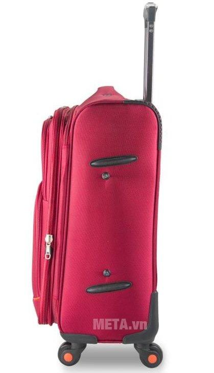 Vali vải cao cấp VLX020 28 inch màu đỏ