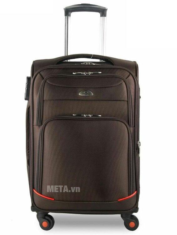 Vali vải cao cấp VLX020 28 inch màu nâu