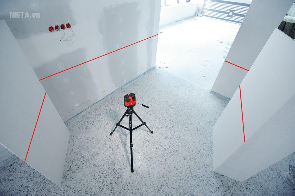 Máy cân mực laser Leica LINO L360 giúp đo đạc chính xác