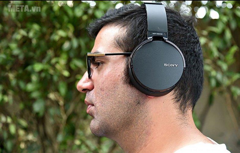 Tai nghe nhạc Sony MDRXB950B1 có thể kết nối không dây