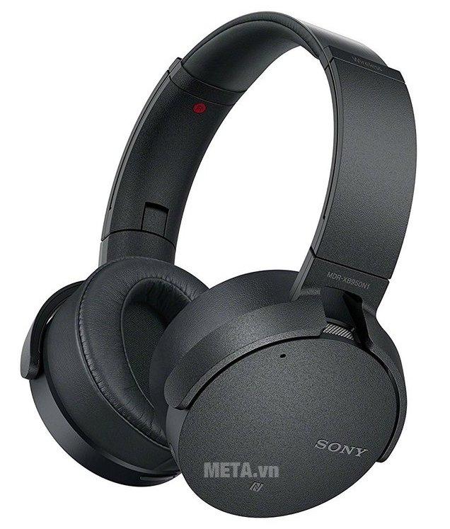 Tai nghe nhạc Sony MDRXB950N1 có thiết kế không dây