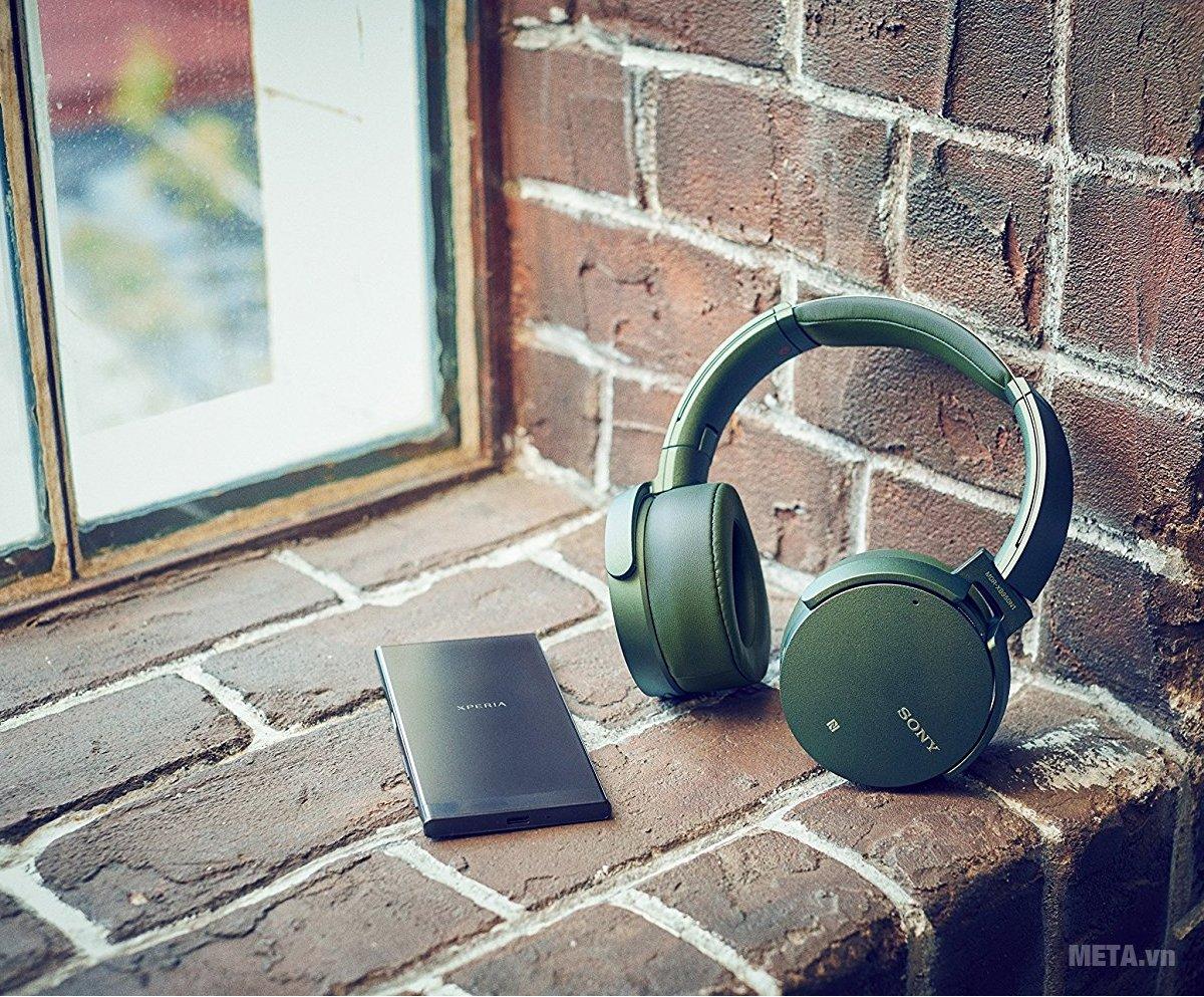 Tai nghe nhạc Sony MDRXB950N1 là tai nghe âm nhạc đỉnh cao