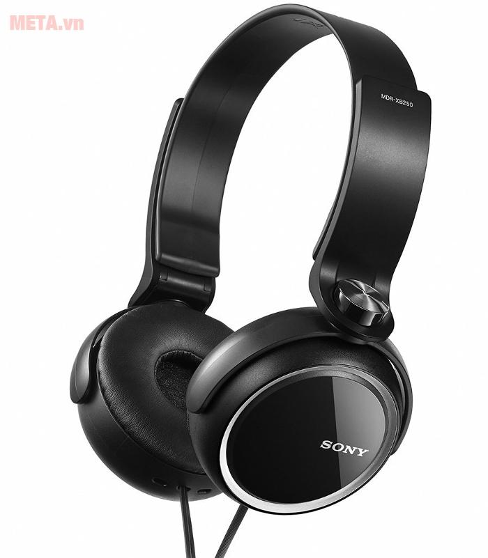 Tai nghe Sony Extra Bass MDR-XB250 tạo sự thoải mái khi đeo