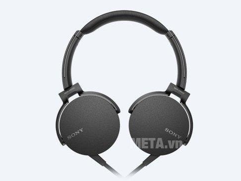 Tai nghe Sony Extra Bass MDRXB550AP thiết kế xoay tiện lợi