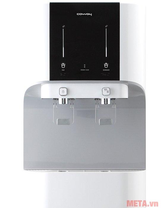 Máy lọc nước Coway CHP-671R có thể uống nước thường, nước lạnh hoặc nước nóng