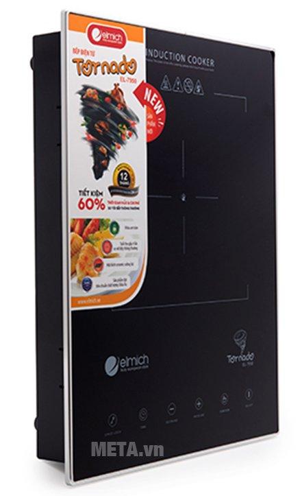 Bếp điện từ Elmich EL-7950 có chất liệu cao cấp