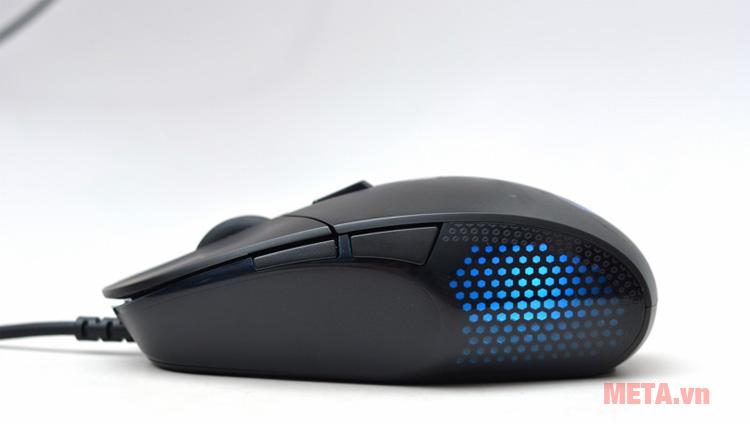 Chuột game Logitech G302 Daedalus Prime có màu đen mạnh mẽ