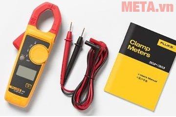 Ampe kìm AC Fluke 303 (600A) dùng đo dòng điện xoay chiều, điện trở