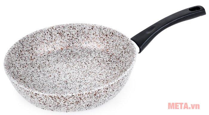Chảo vân đá chống dính dùng trên bếp từ Supor Rock F23A26IH