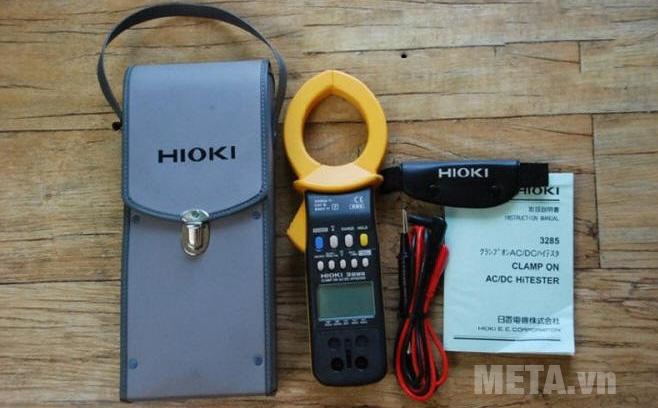 Bộ sản phẩm ampe kìm AC/DC Hioki 3285