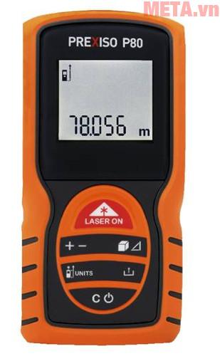 Hình ảnh máy đo khoảng cách laser Prexiso P80.