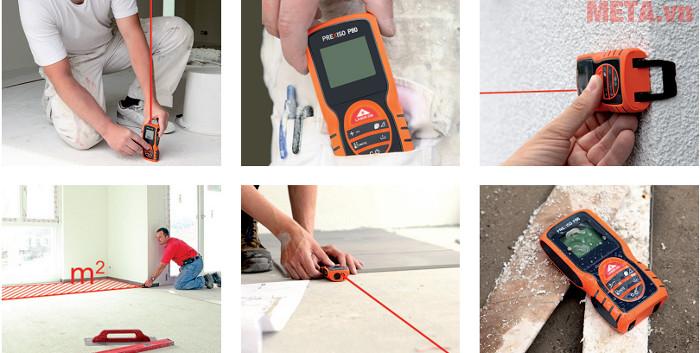 Máy đo khoảng cách laser Prexiso P80 dễ dàng sử dụng