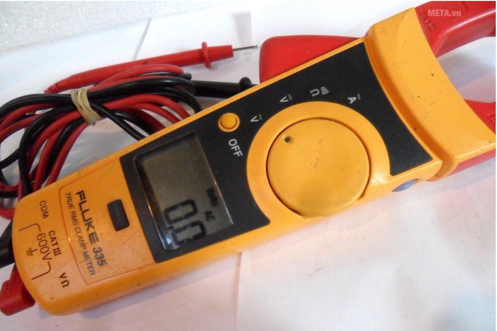 Ampe kìm Fluke 335 có dải đo lớn