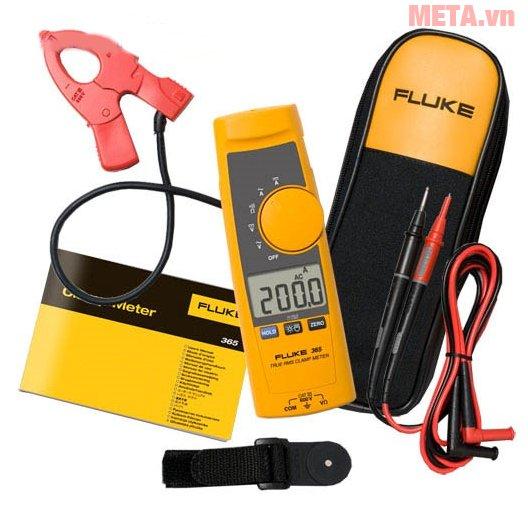 Ampe kìm Fluke 365 dễ dàng sử dụng