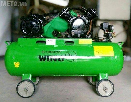 Máy nén khí WING TW-V-0.12/8 truyền động bằng dây đai