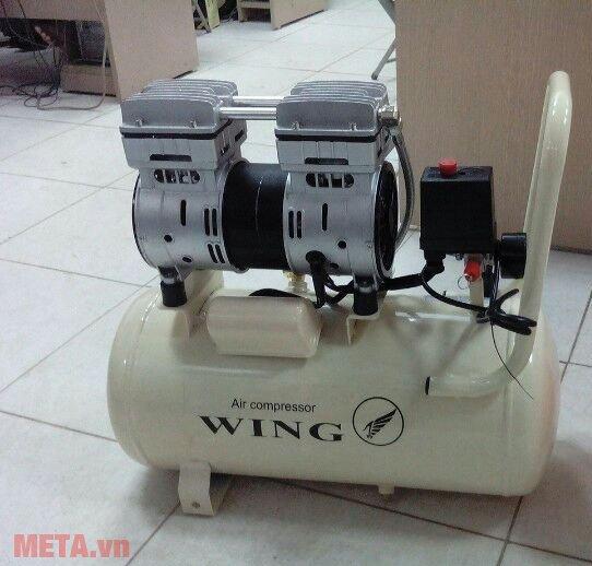 Máy nén khí không dầu giảm âm Wing TW-OF750 độ ồn thấp, lên hơi nhanh