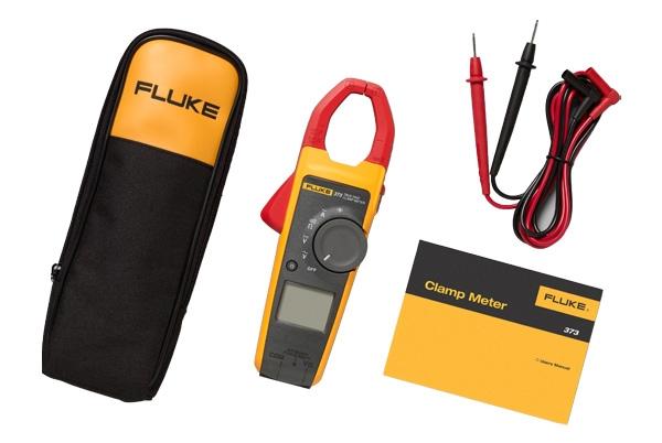Bộ sản phẩm của ampe kìm Fluke 373