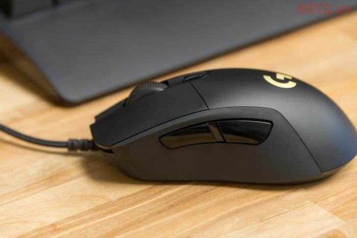 Chuột game Logitech G403 Prodigy có dây đem đến sự chính xác và nhanh chóng khi cần