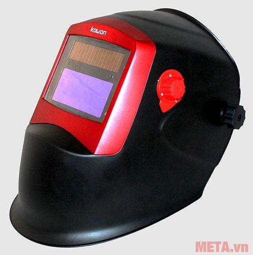 Mặt nạ hàn điện tử Kowon WH8511 màu đỏ đen