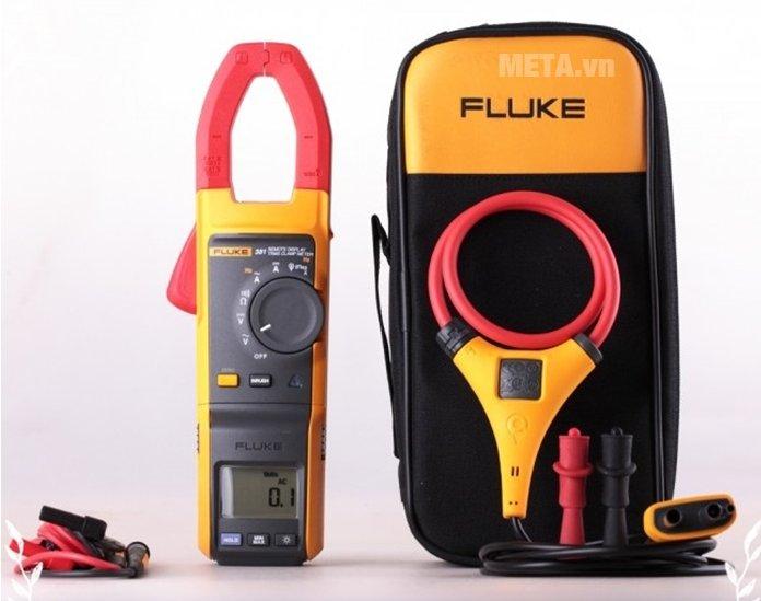 Ampe kìm Fluke 381 có túi đựng