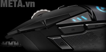 Chuột game Logitech G502 Proteus Spectrum có bộ vi điều khiển 32 bit