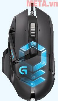Chuột game Logitech G502 Proteus Spectrum dành riêng cho các tay chơi chuyên nghiệp
