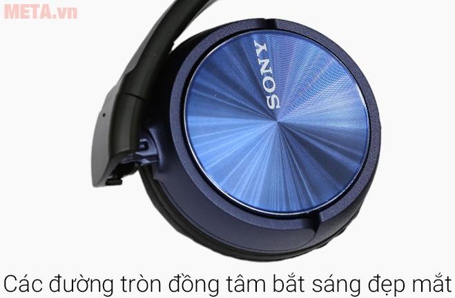 Tai nghe Sony MDR-ZX310AP mang vẻ đẹp hiện đại