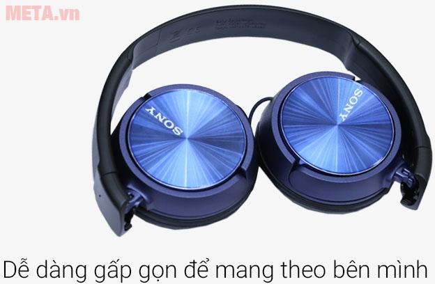Tai nghe Sony MDR-ZX310AP mang nét đẹp với nhiều màu sắc cho bạn lựa chọn
