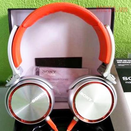 Tai nghe Sony MDR-XB610 là dòng Bass mạnh mẽ