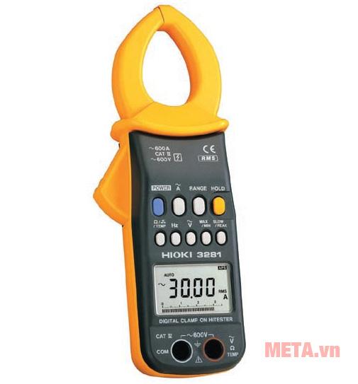 Ampe kìm Hioki 3281 có thiết kế nhỏ gọn