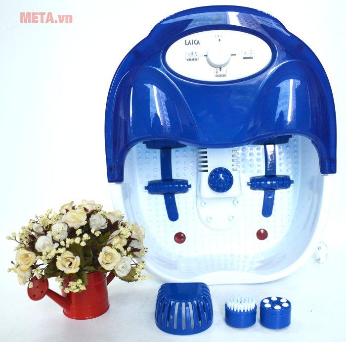 Bồn massage chân hồng ngoại Laica PC1301 dễ dàng sử dụng