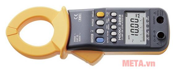 Ampe kìm Hioki 3283 có thiết kế nhỏ gọn