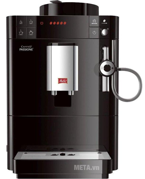Máy pha cà phê Melitta Caffeo Passione màu đen