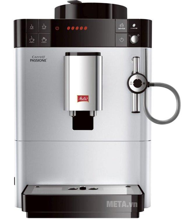 Máy pha cà phê Melitta Caffeo Passione có thiết kế sang trọng