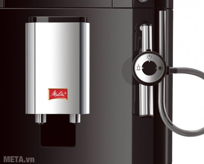 Máy pha cà phê Melitta Caffeo Passione có vòi đánh hơi