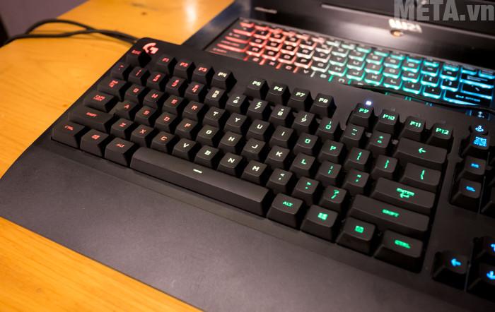 Bàn phím G231 được thiết kế với các phím to, trông ngộ nghĩnh