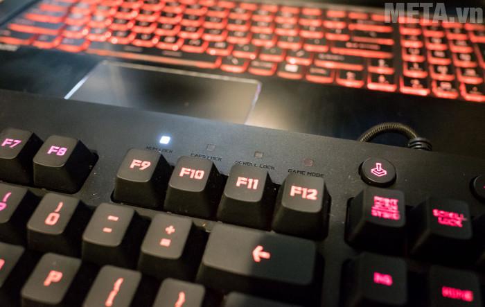 Logitech G213 là loại bàn phím giả cơ hướng đến game thủ