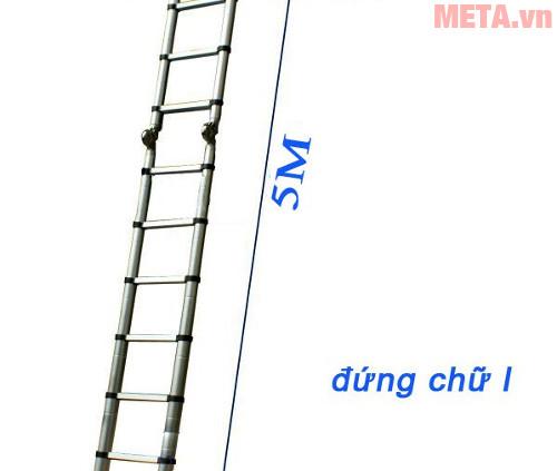 Thang nhôm thông minh Nikita NKT-AI phù hợp với nhiều mục đích sản phẩm