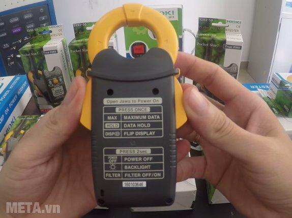 Ampe kìm đo dòng rò Hioki 3293-50 được làm bằng nhựa cao cấp
