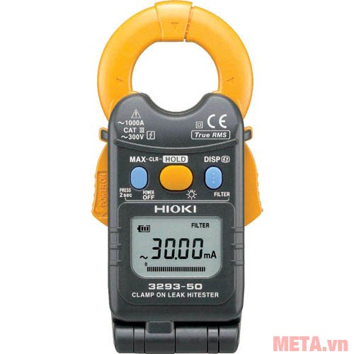 Ampe kìm đo dòng rò Hioki 3293-50 có màn hình LCD