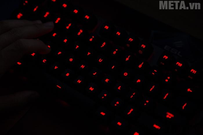 Bàn phím Logitech G413 Carbon màu led đỏ