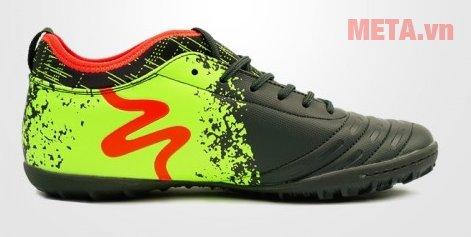 Giày đá bóng Mitre 160804 màu đen xanh chuối