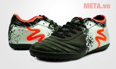 Giày đá bóng Mitre 160804 màu đen trắng
