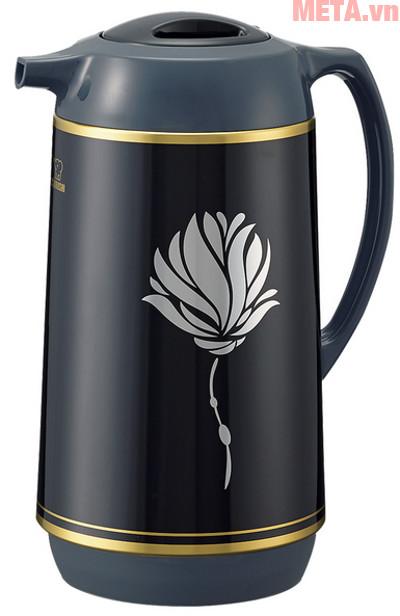 Hình ảnh bình thủy xoay rót Zojirushi AHGB-10 màu Lotus Black