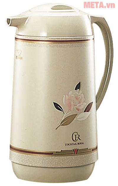 Hình ảnh bình thủy xoay rót Zojirushi AHGB-10 màu Cocktail Rose