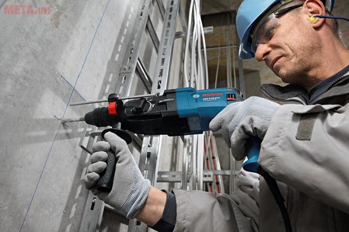 Máy có thước đo độ sâu đem đến sự chính xác trong quá trình vận hành