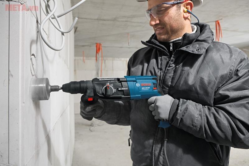 Máy khoan búa Bosch GBH 2-28 DFV chống rung đặc biệt